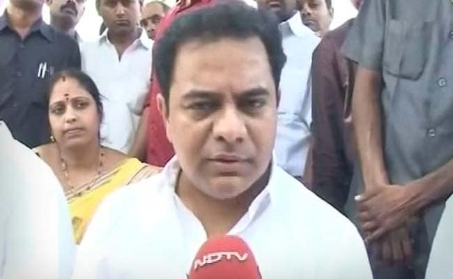 'Just One Party He Hasn't Allied With': KTR's Dig At Chandrababu Naidu