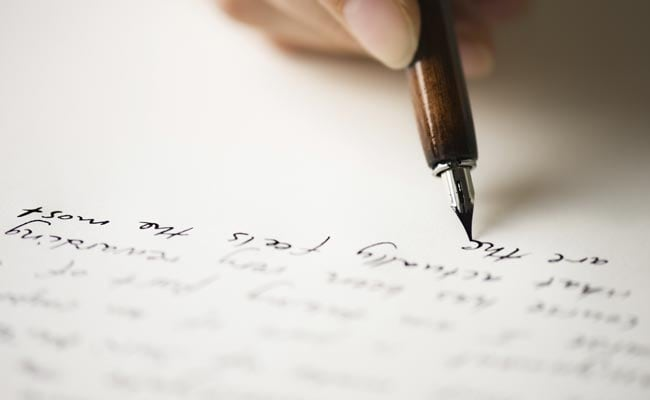 old fashioned letters