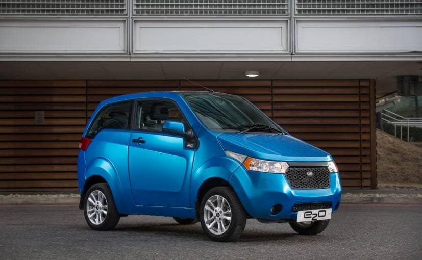 Mahindra Stops Sales Of E2o Electric Car In Uk Ndtv Carandbike