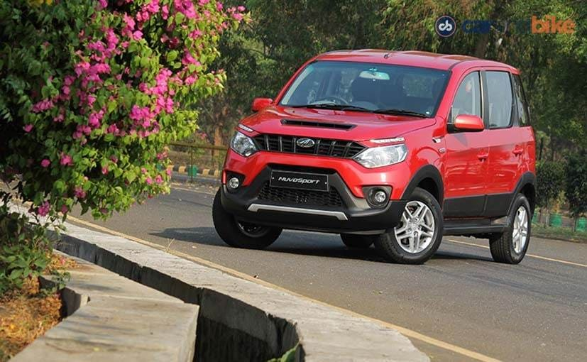 new car launches by mahindraMahindra NuvoSport Launched in India Prices Start at Rs 735