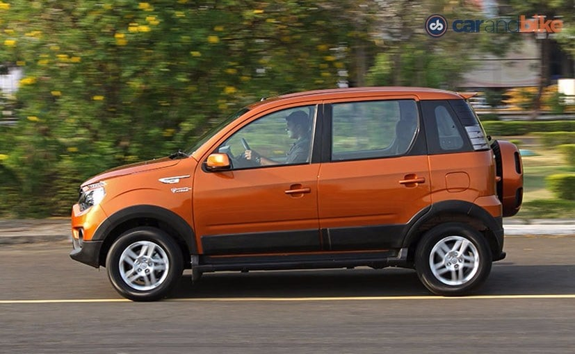 Mahindra NuvoSport Side Profile