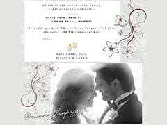 कुछ इस तरह से डिजाइन किया गया है बिपाशा और करण की शादी का कार्ड, देखिए तस्वीरें...
