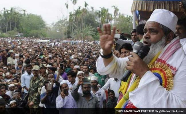 असम : भाजपा को रोकने के लिए अजमल धर्मनिरपेक्ष दलों के तीसरे मोर्चे के पक्ष में