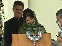 Zero Tolerance For Dissidence: Chief Minister Mehbooba's Message