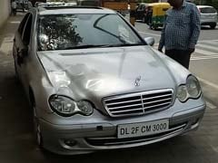 After Speeding Mercedes Kills Delhi Man, A Mystery Over Who Was Driving