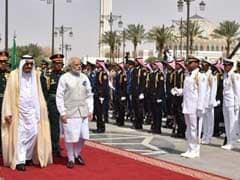 PM Narendra Modi Accorded Official Welcome In Saudi Arabia