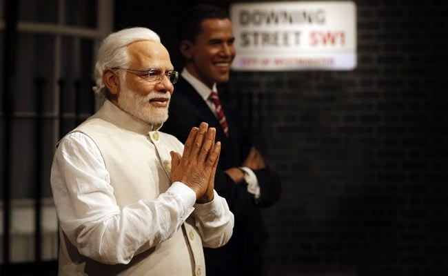 PM Modi Joins Obama, Cameron At London's Madame Tussauds Wax Museum