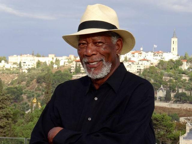Morgan Freeman Posts Reminder Pic of His India Trip Filming Story Of God