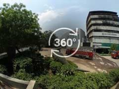 360 Degree View Of National Museum Of Natural History After Fire