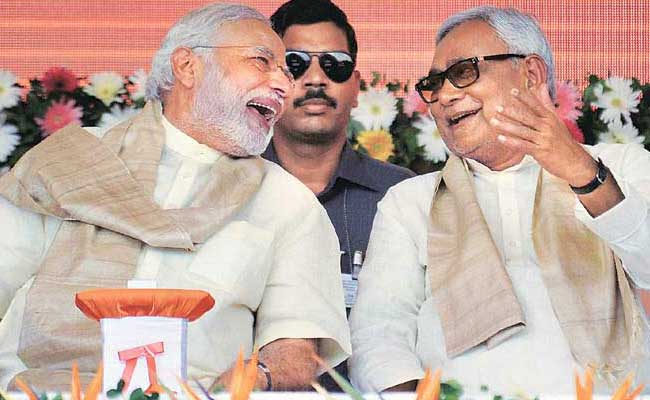 Prime Minister Narendra Modi, Nitish Kumar Have Natural Admiration For Each Other: BJP