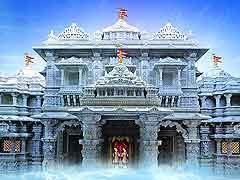 अमेरिका में यहां पर बन रहा है हिंदू समुदाय का सबसे बड़ा और भव्य मंदिर