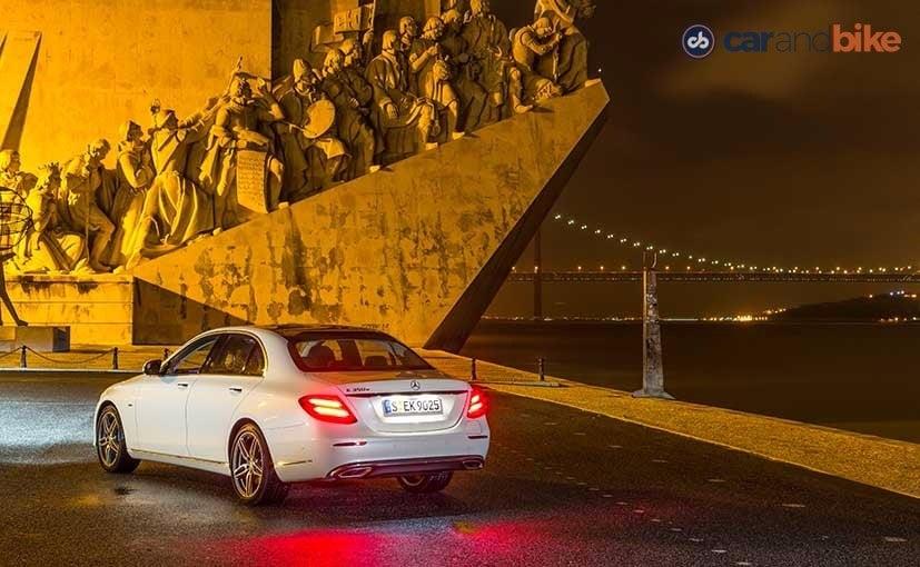 New Mercedes-Benz E-Class Rear