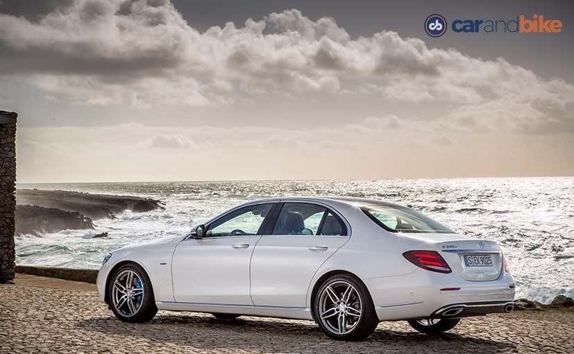 New Mercedes-Benz E-Class Rear Quarter