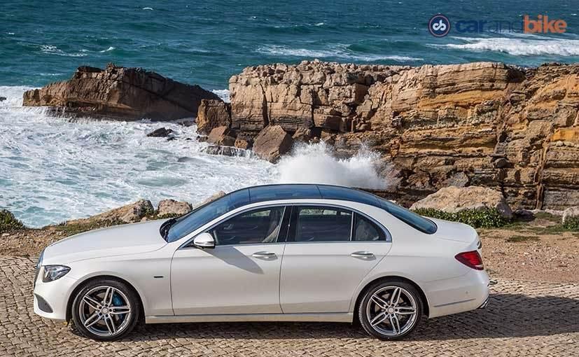 New Mercedes-Benz E-Class Side Profile