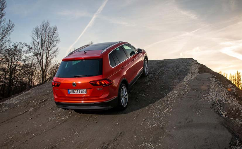 New Volkswagen Tiguan Rear Quarter