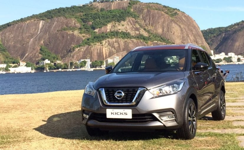 nissan kicks compact suv revealed ahead of global debut ndtv carandbike. Black Bedroom Furniture Sets. Home Design Ideas