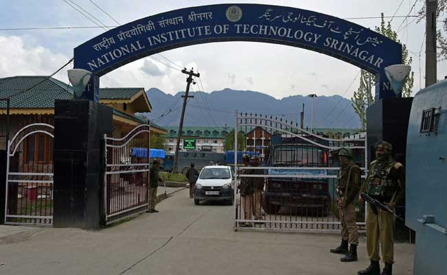 NIT Srinagar Row: Outstation Students' Demand For Shifting Institute Rejected