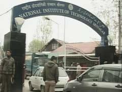 श्रीनगर NIT में तनाव कायम : छात्रों ने की सुरक्षा के साथ गेट पर तिरंगा फहराये जाने की मांग