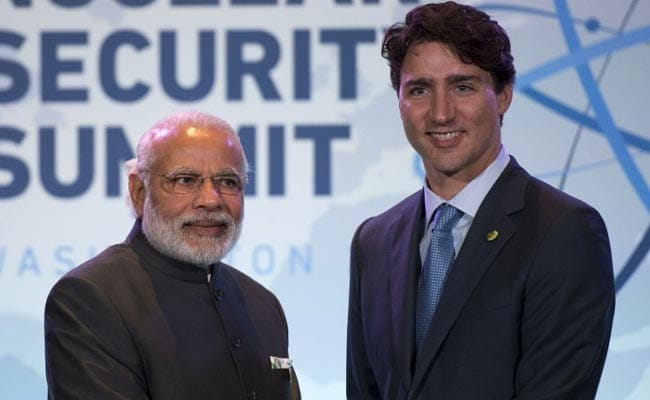 PM Modi, Canada's Justin Trudeau Agree On Commitment To Paris Climate Deal