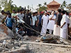 डीजीपी की आलोचना के बाद मुख्यमंत्री चांडी बोले - पीएम मोदी की यात्रा से राहत मिली
