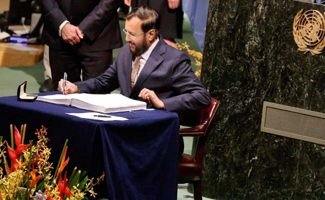 India Seeks Time To Implement Paris Climate Agreement