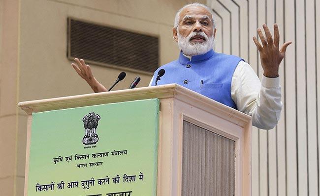 PM Narendra Modi's New Slogan To Farmers: Per Drop, More Crop