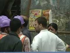 Rahul Gandhi's Visit To Kolkata Flyover Collapse Site A 'Photo-Op', Says BJP