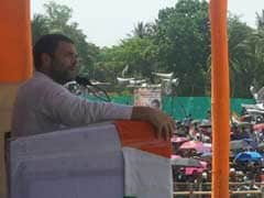 राहुल गांधी ने कहा, ममता सरकार ने शारदा घोटाले से जनता को लूटा