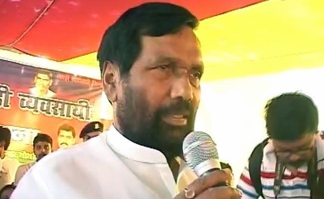 लोजपा के अध्यक्ष रामविलास पासवान उपचुनाव में एनडीए की हार से चिंतित
