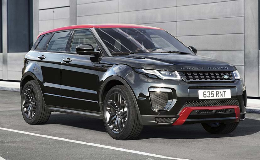 land rover debuts the evoque 39 ember 39 edition ndtv carandbike. Black Bedroom Furniture Sets. Home Design Ideas