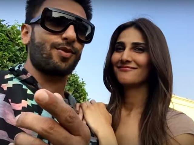A Befikre Selfie Starring Ranveer Singh and Vaani Kapoor