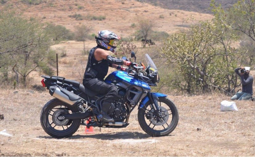 triumph conducts tiger training academy in pune - ndtv carandbike