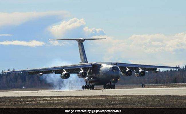 12 Indian Air Force Aircraft Reach US To Take Part In 'Red Flag' Exercise