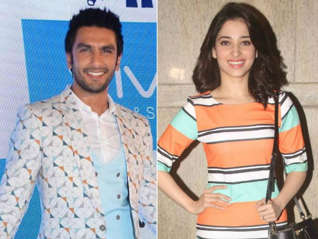Ranveer Singh and Tamannaah Are the Stars of Rohit Shetty's Next Film