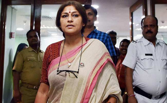 New Trinamool Acquisition Shocks With Remarks On BJP's Roopa Ganguly