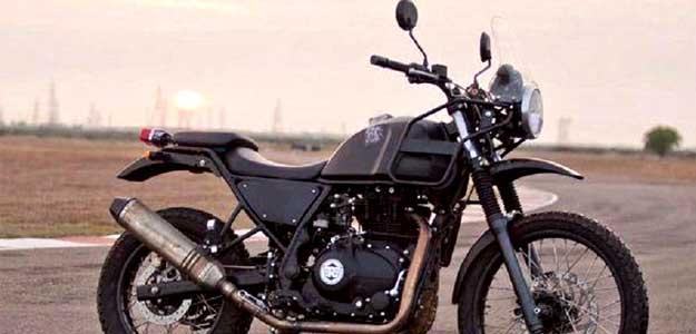 This is the first time Royal Enfield has partnered with a third party for sale of its accessories.