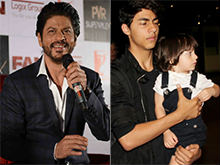 Shah Rukh Khan's 'Choice' For His Biopic Are Sons Aryan, AbRam