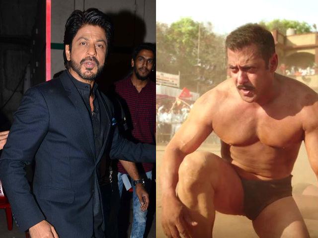 Shah Rukh Shares Salman Khan's Sultan Teaser. Says, 'Kya Baat Hai'