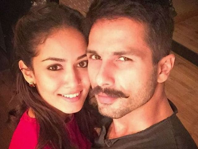 Shahid Kapoor and Mira Rajput Out on a Drive, Share Selfie