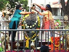 Devotees Visit Maharashtra's Shani Temple After Ban Is Lifted
