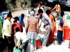 शिमला में पानी की किल्लत : नल सूखे, टैंकर से हो रही है सप्लाई