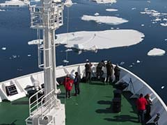 China Wants Ships To Use Faster Arctic Route Opened By Global Warming