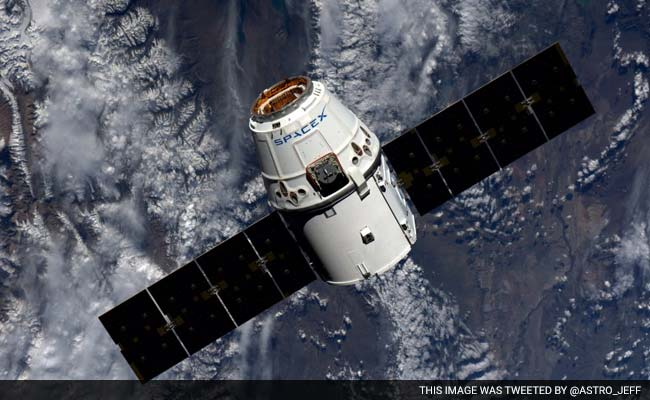 SpaceX Cargo Arrives At International Space Station With ...