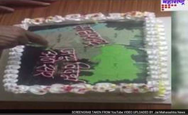 Maharashtras Former Top Lawyer Cuts A Cake Sparks Controversy