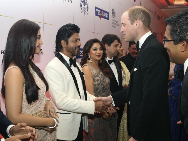 When Shah Rukh, Aishwarya Met Prince William and Kate Middleton