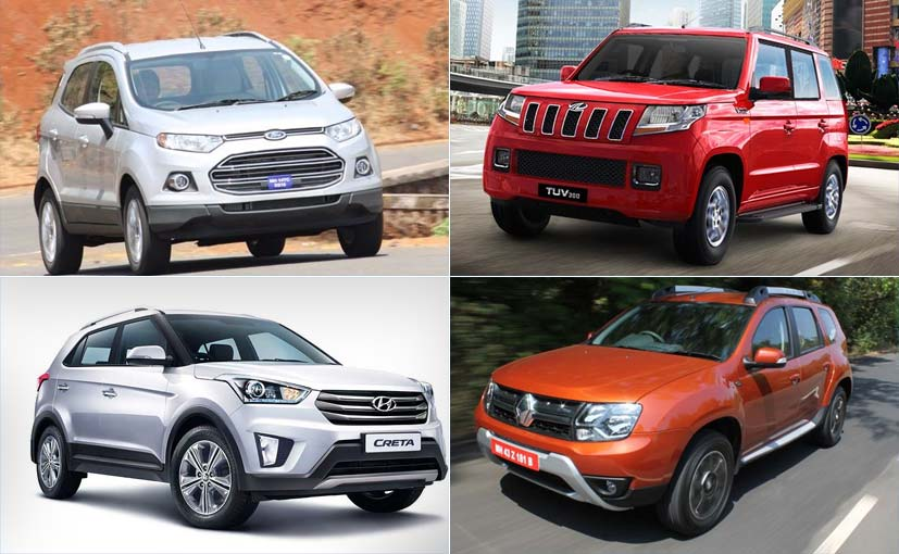 Suvs In India Under Rs 15 Lakh Ndtv Carandbike