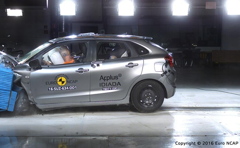 Top Variant Of Made In India Baleno Gets 4-Star Euro NCAP Rating