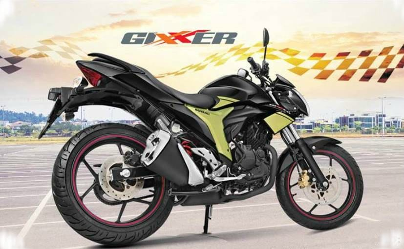 Suzuki Gixxer Rear Disc Variant Launched; Priced at &#8377 79,726