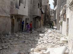 Shelling Kills 10 Children In Aleppo As Syria Violence Rises