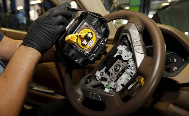 Japan's trade minister - Takata bankruptcy filing was unavoidable